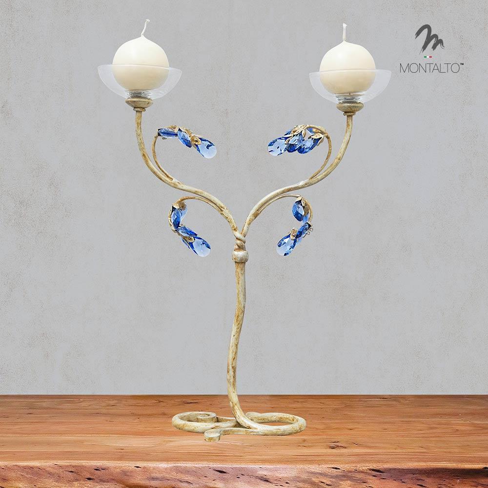 swarovski crystal candle barbina