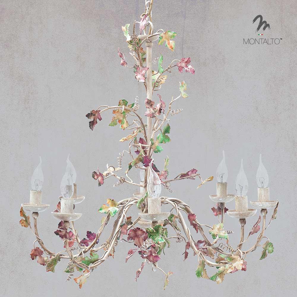 flower chandelier esperia