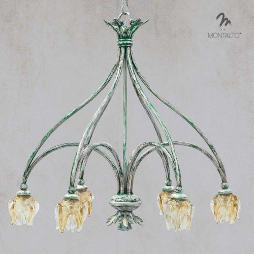 murano glass pendant lamp fenis