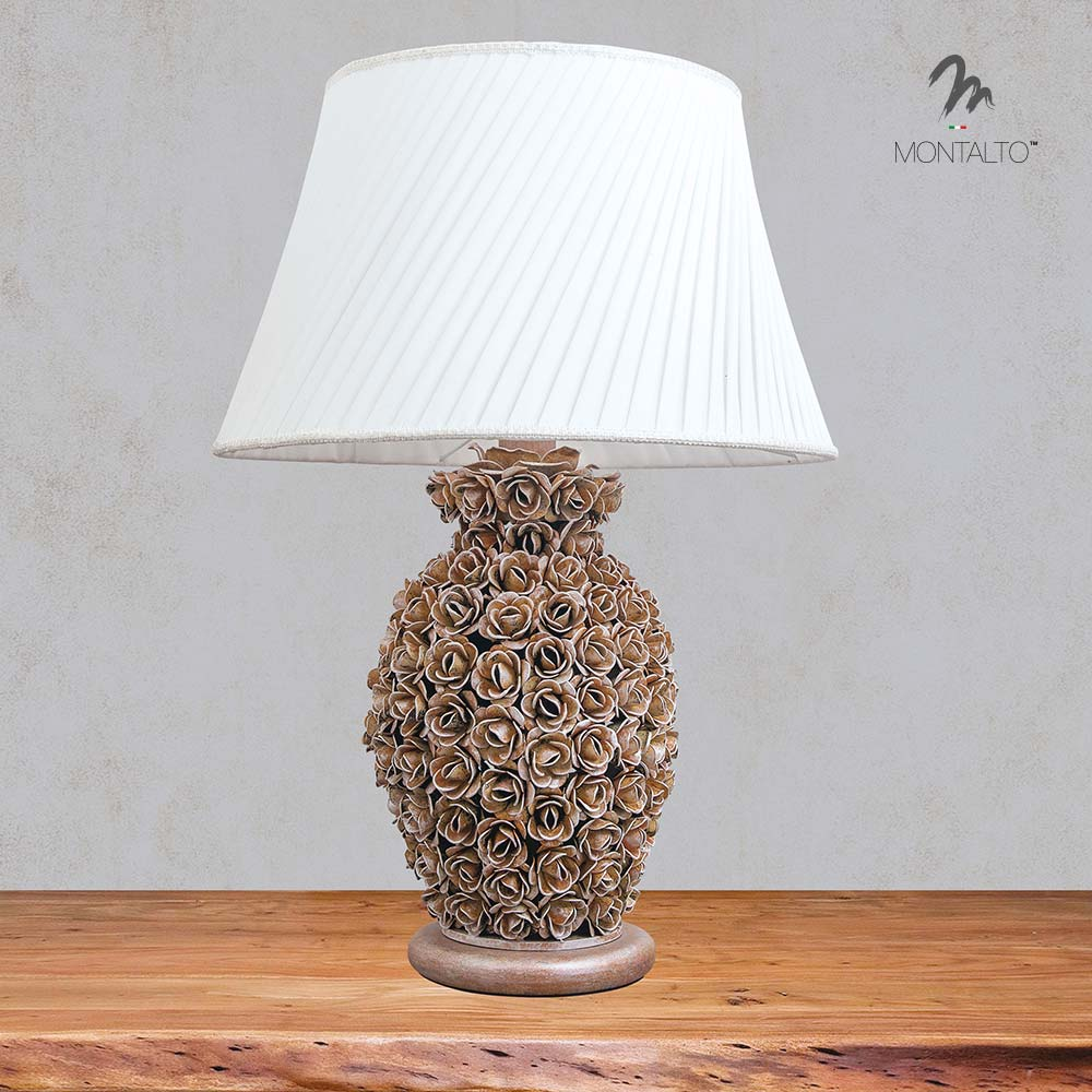 floral desk lamp baltica