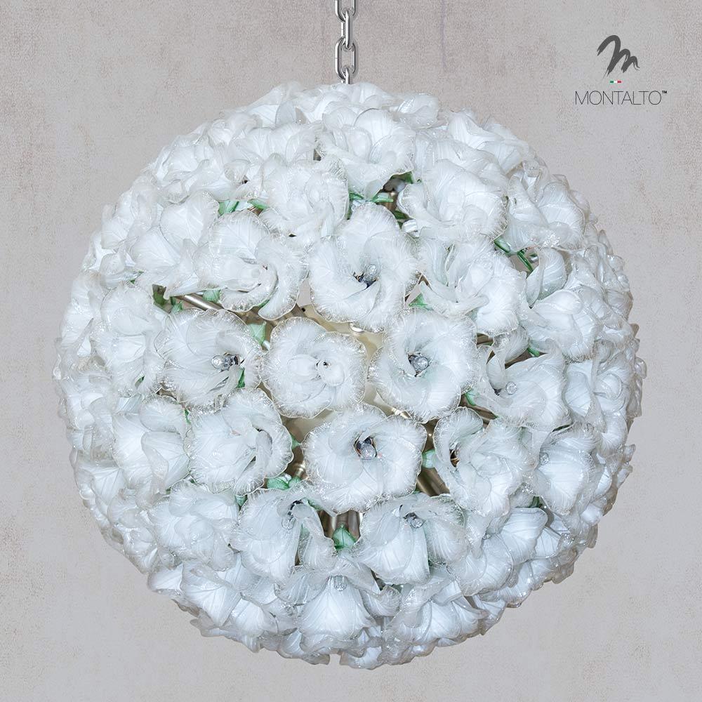 murano glass chandelier carolina