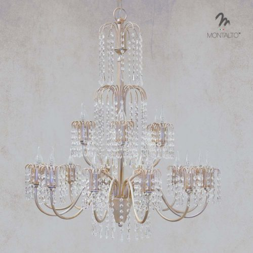 crystal ceiling lamp carrara