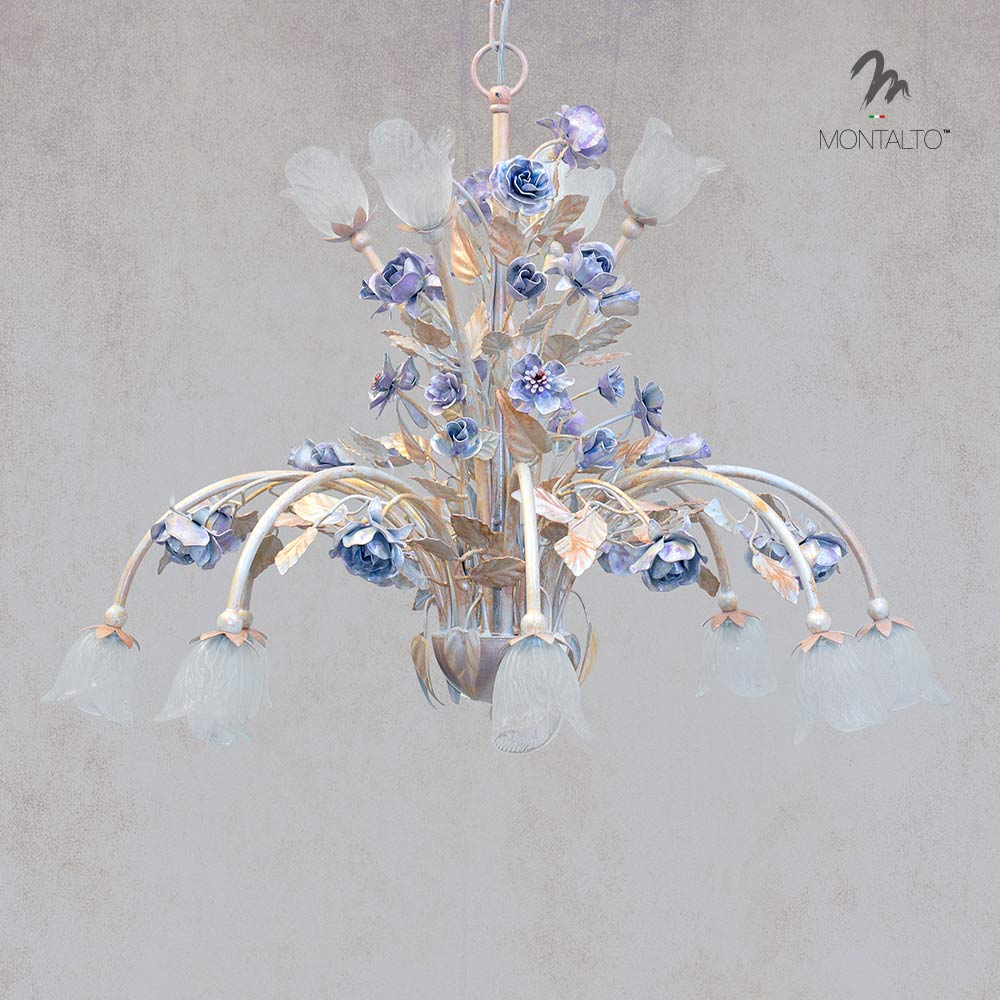 wrought iron pendant lamp emone