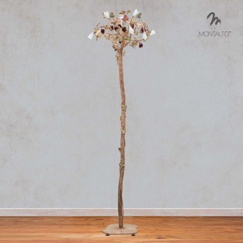 wrought iron standing lamp esperia