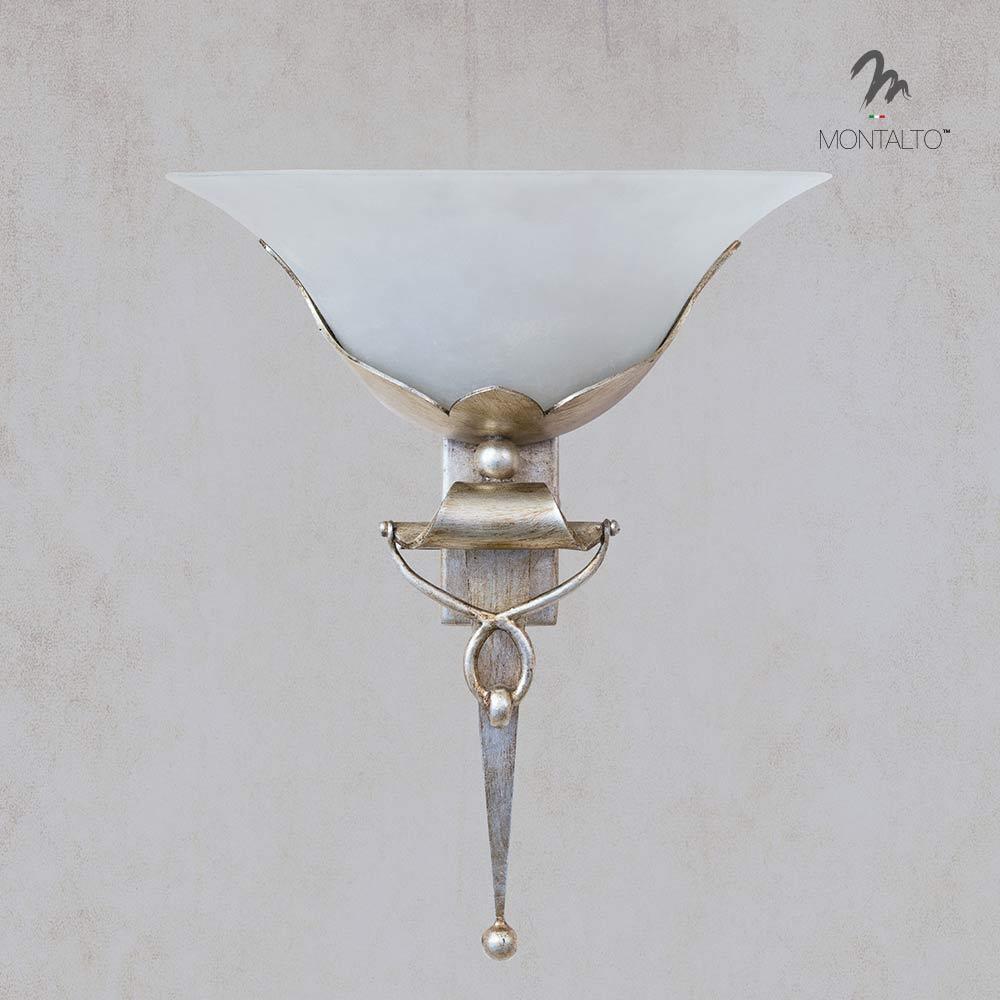 wrought iron wall lamp fiesole
