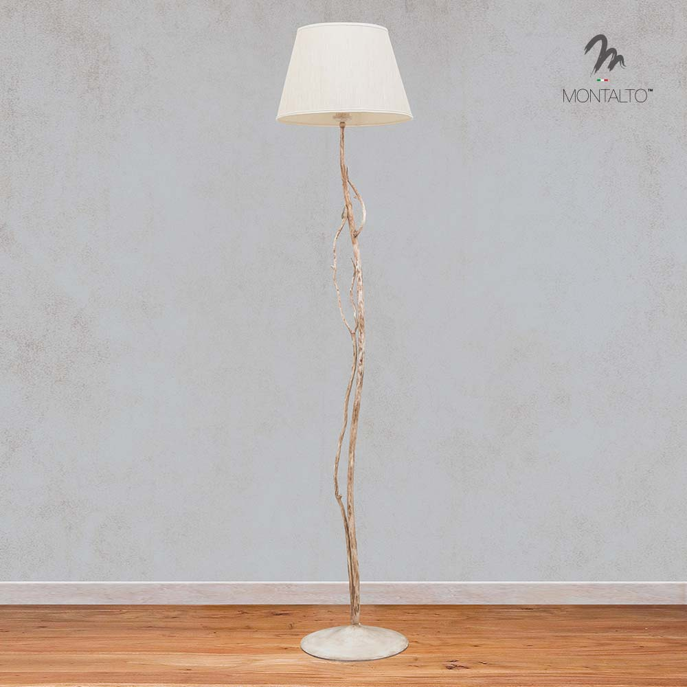 wrought iron floor lamp frasca