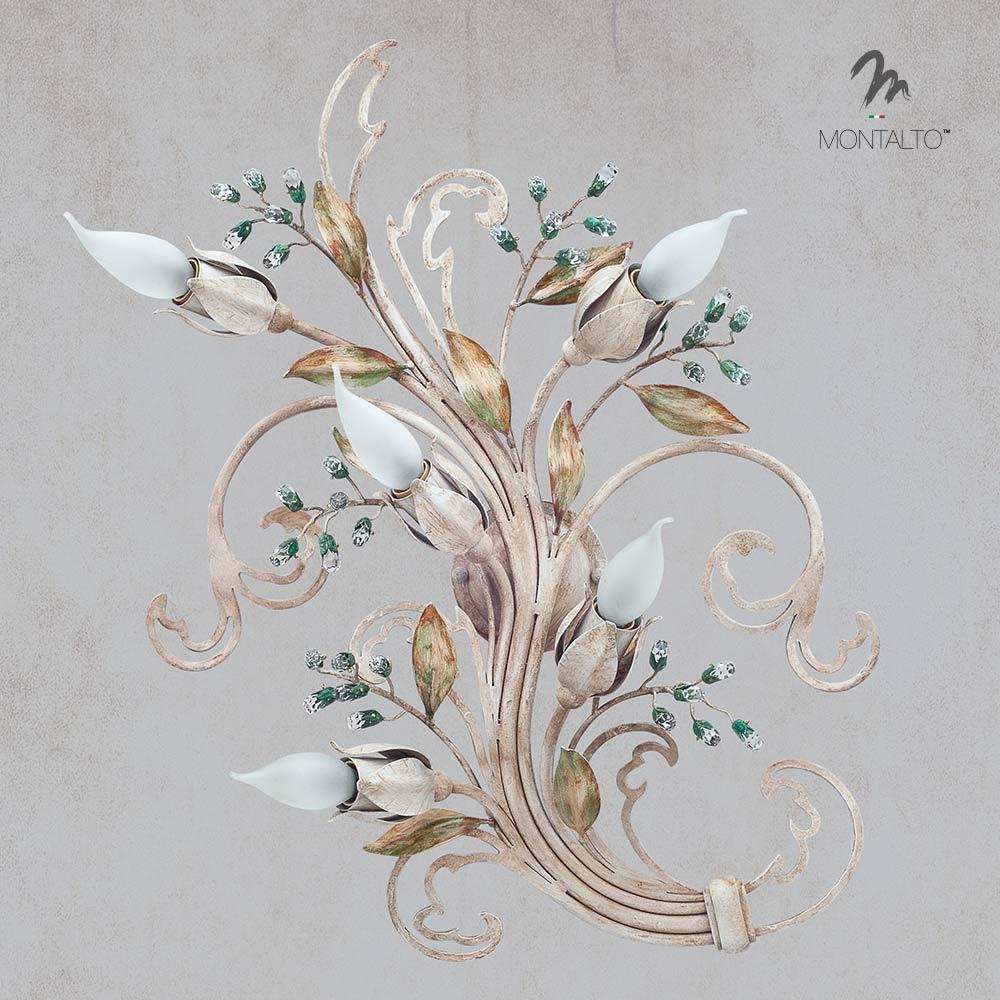 swarovski wall lamp giacinto