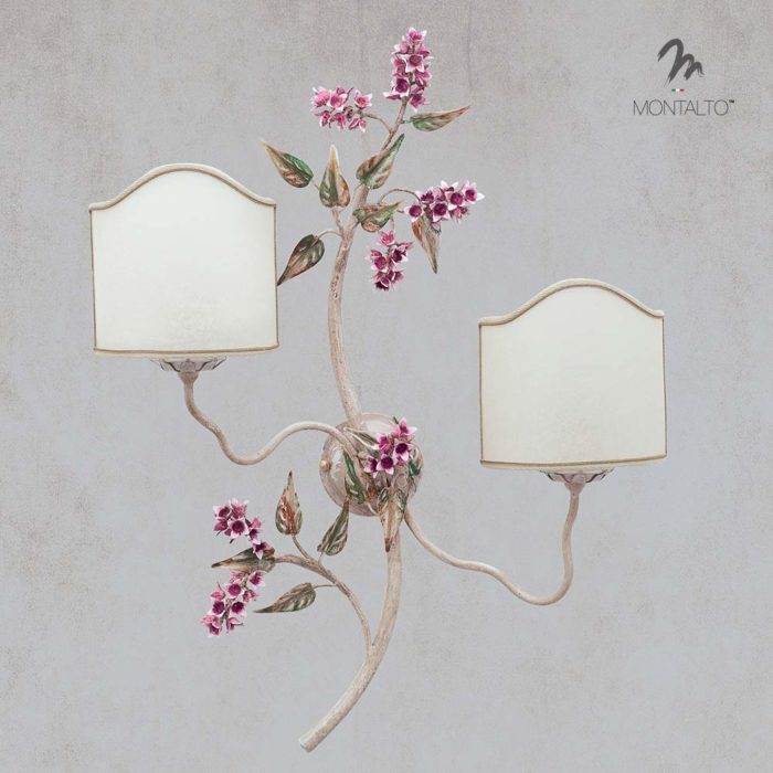 floral wall lights glicine
