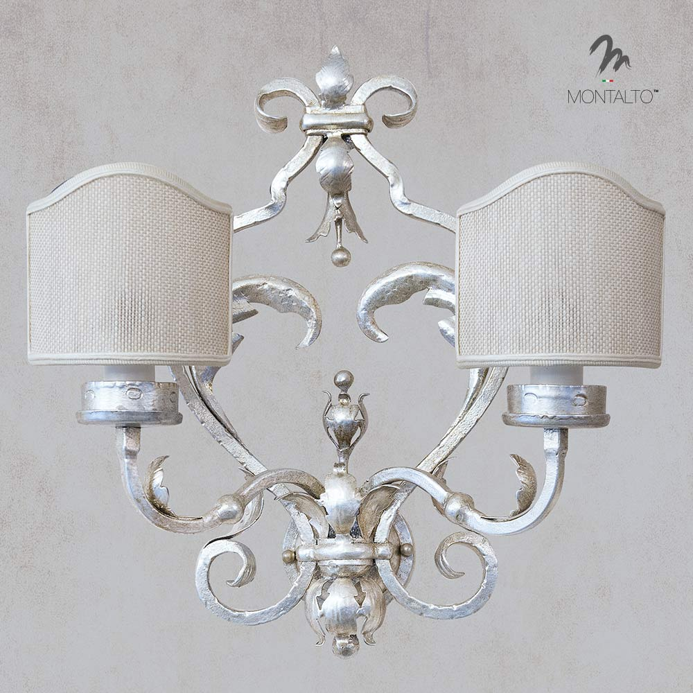 wrought iron wall sconces heritage