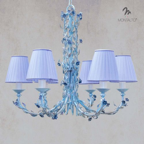 wrought iron ceiling lamp lavanda