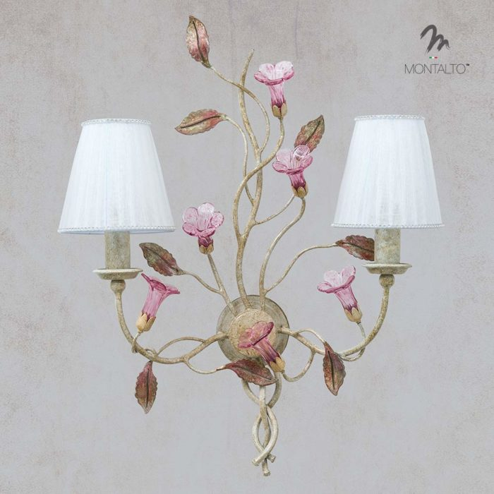 murano glass wall sconces marciana