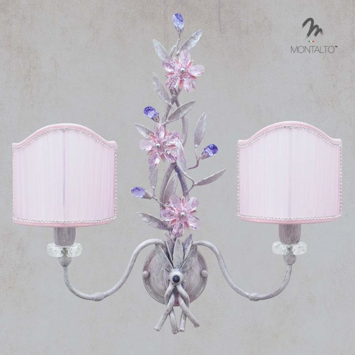 asfour crystal wall lamp signa