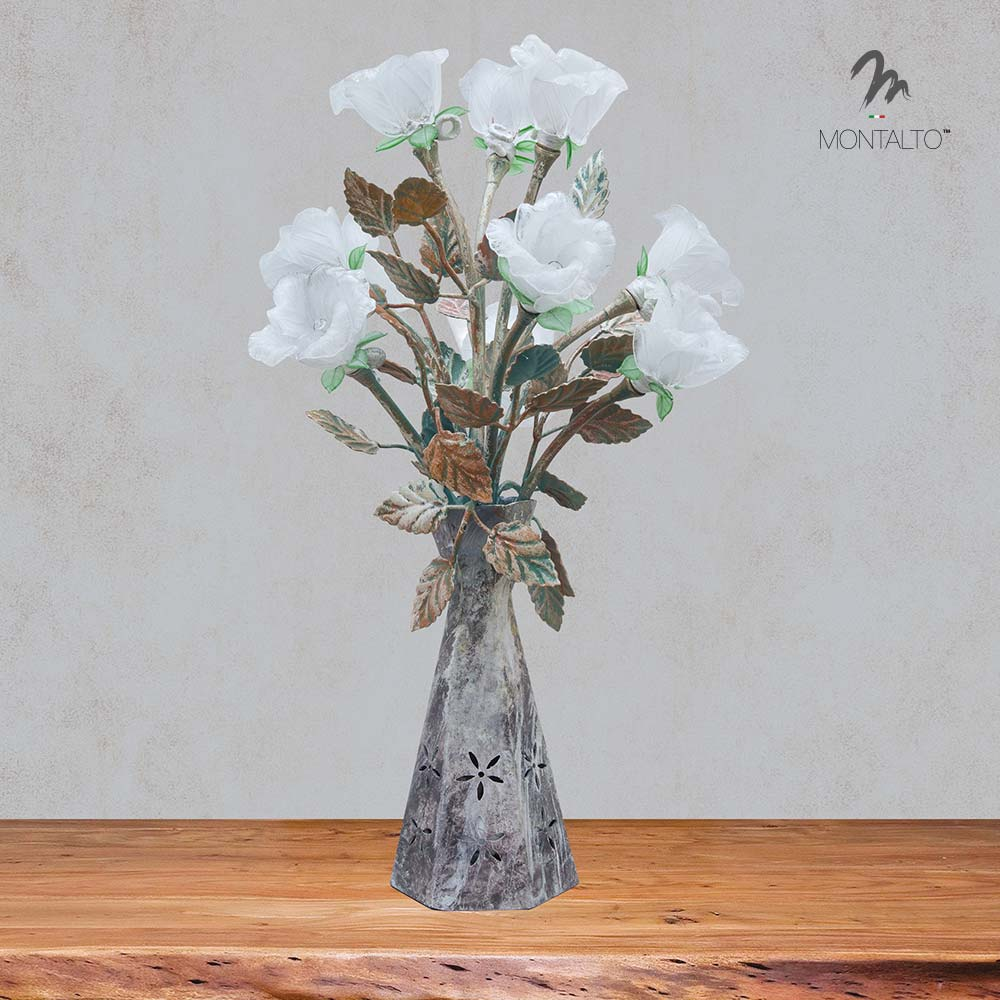 murano glass table lamp soraya