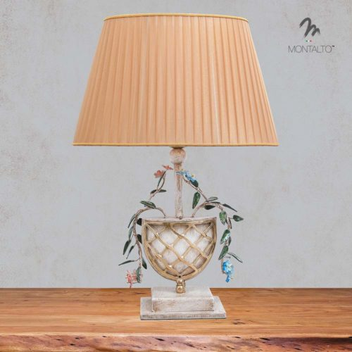 wrought iron table lamp tresana
