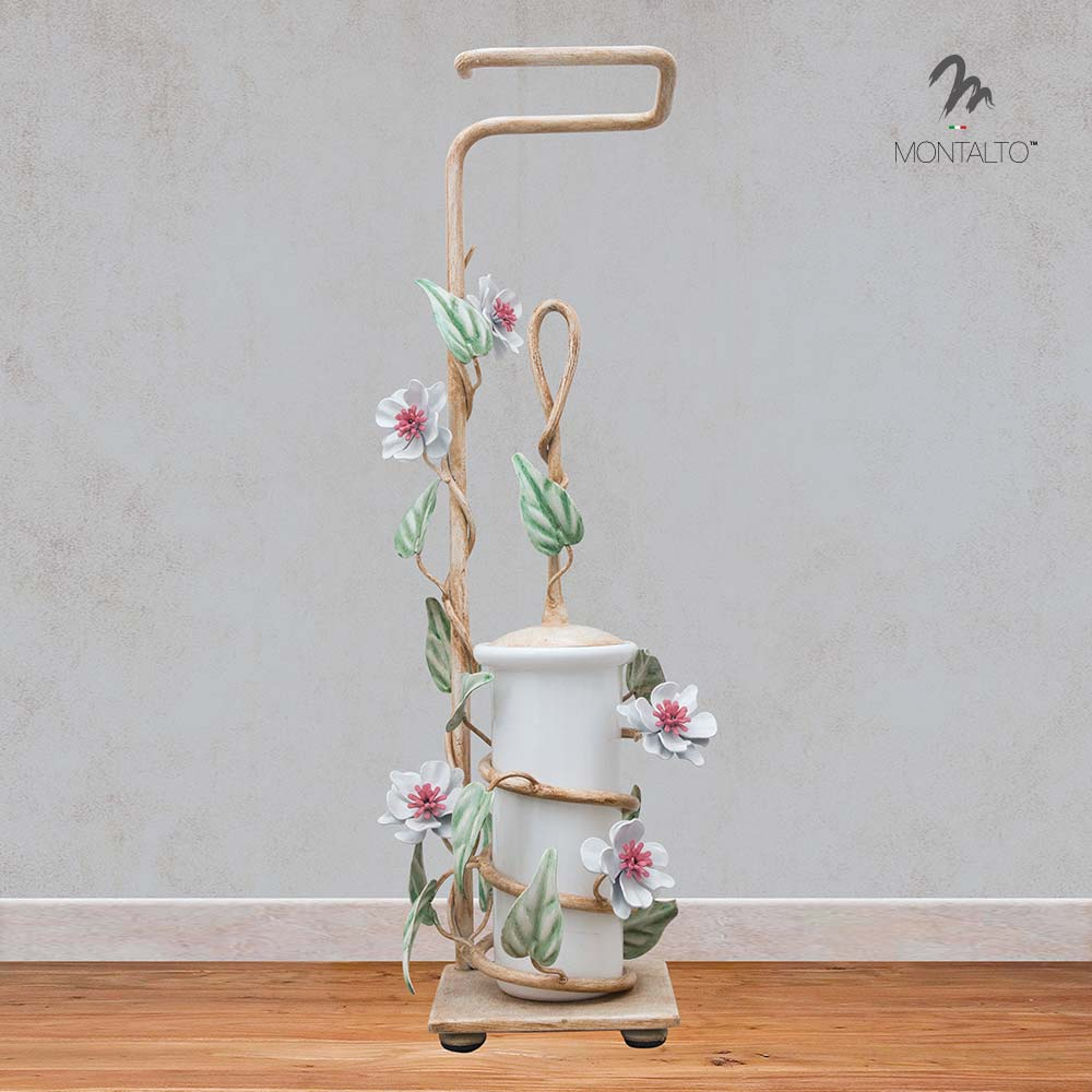 wrought iron candle verna bath