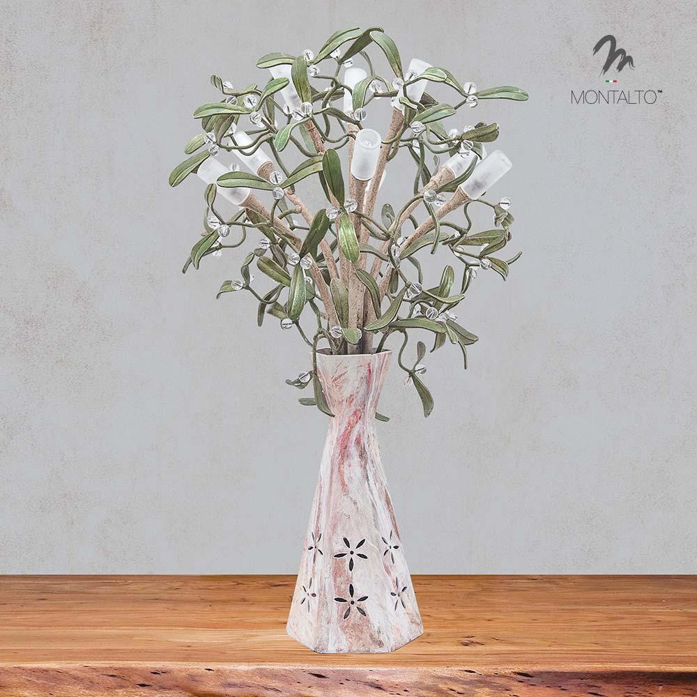 flower table lamp vischio